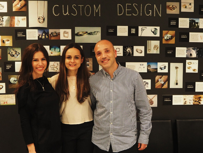 Bilingual Jewellery Design Show Jessica Brouwer Marta Niegowska Sydney Designer