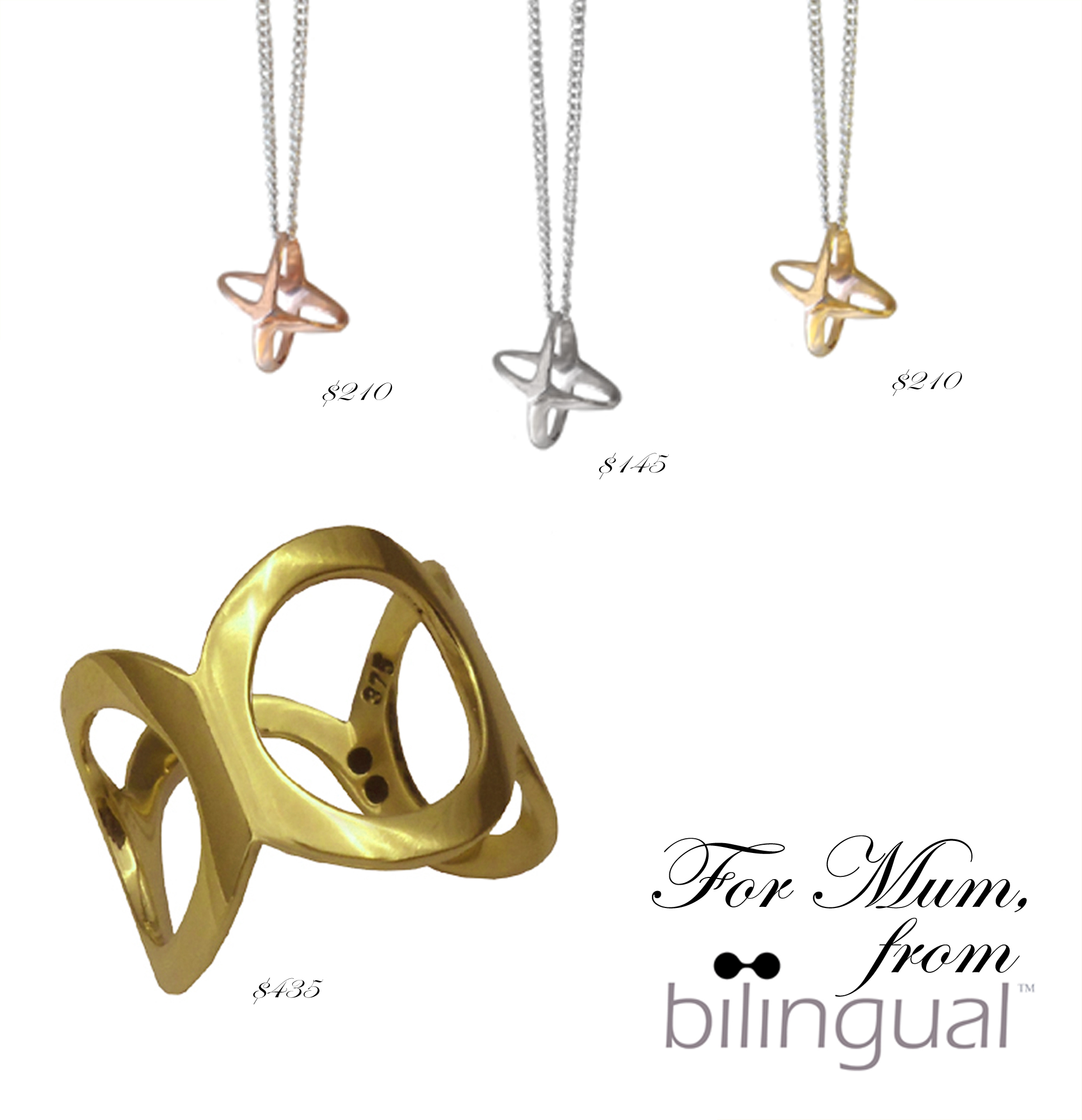 Mothers_Day_Mum_Gift_Jewellery_Unique_Timeless_Bilingual_Design_gold_rose