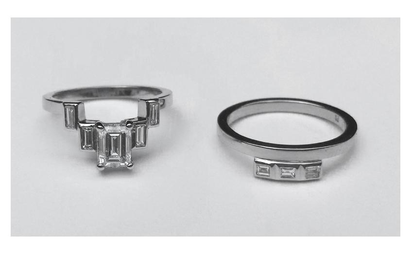 matching_wedding_bands_diamond_emerald_princess_cut_engagement