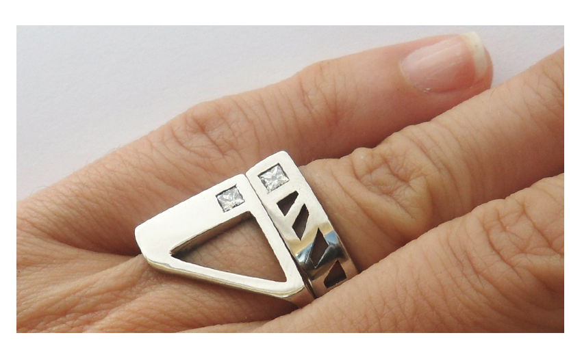 unique_wedding_rings_triangle_geometric_diamond_cut_space_matching_set_contemporary_modern
