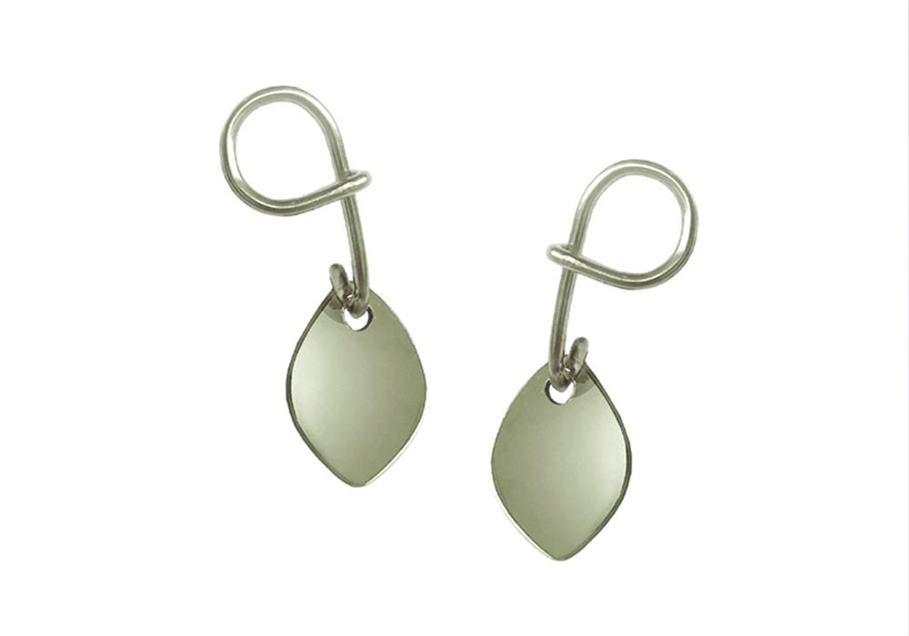 Serpent_Leaf_Earrings_forbidden_jewellery_earrings_dangley_australian_design_silver_wire_meaningful_gift