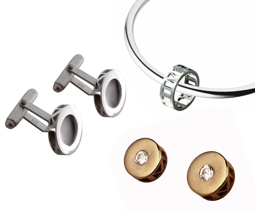 Cufflinks, Earrings, Bangles